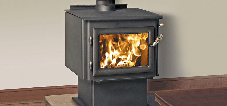 freestanding wood heater